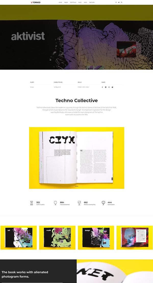 Torneo - Creative Agency, Business Multi-purpose Site Template